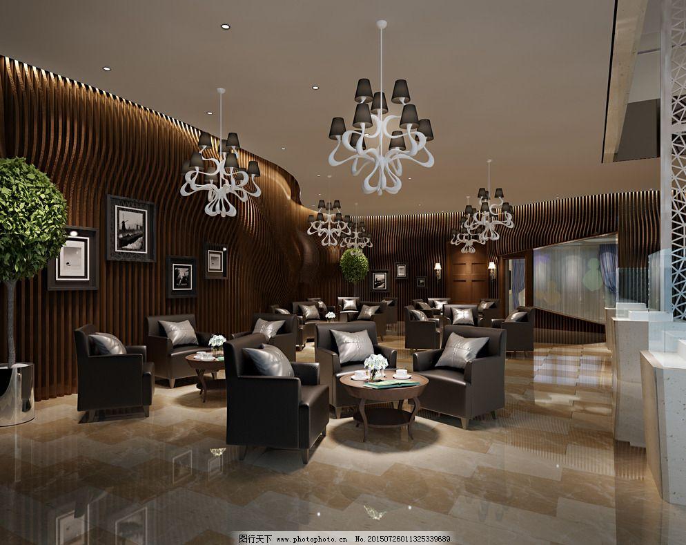 大堂 咖啡厅 休闲会所 音乐吧 背景墙 室内设计 酒店 酒楼 休闲区