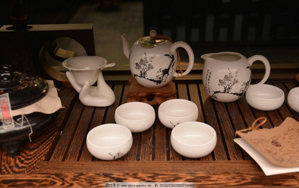 茶具 陶瓷 创意 工艺 锦里 摄影 文化艺术 传统文化 300dpi jpg图片