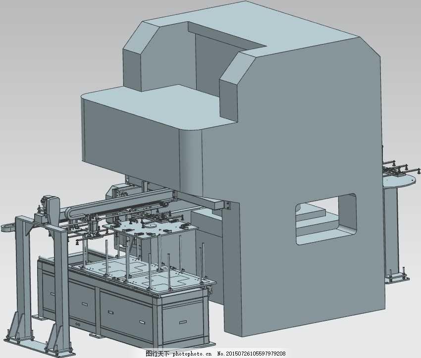 搬运压力机机械模型 机械效果 模型机械效果 机械模具 机械素材