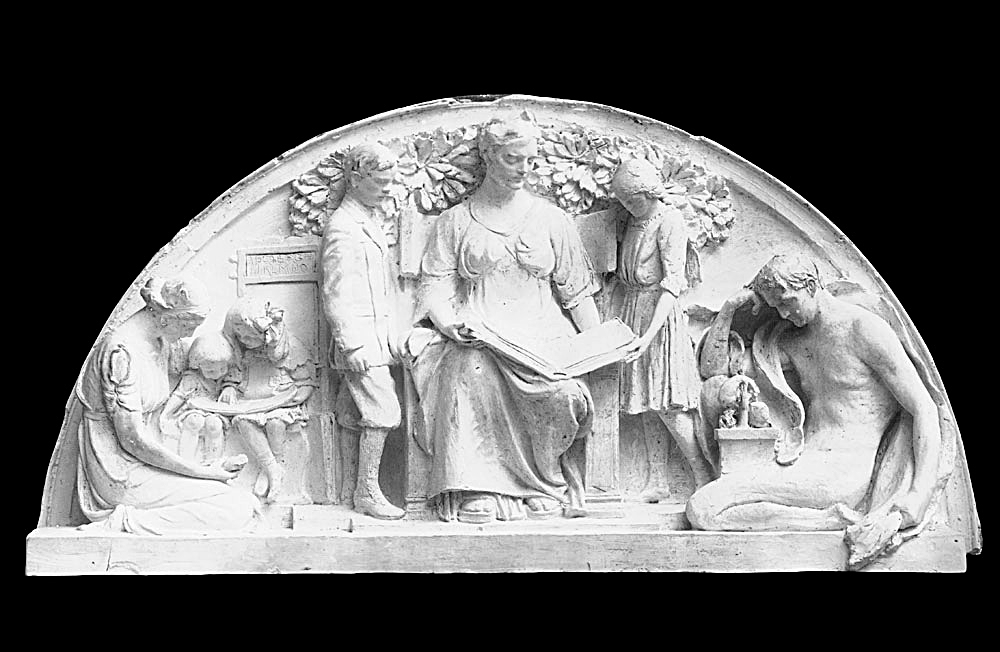 半圆装饰浮雕 欧式建筑 建筑物 古典建筑 石雕 雕塑 雕刻 环境家居