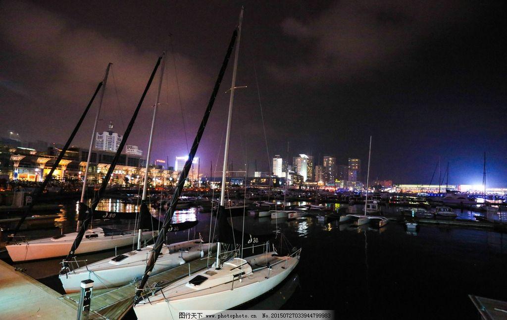 奥林匹克 帆船中心 山东 青岛 帆船比赛 奥运会 帆船 蓝天 河水 自助