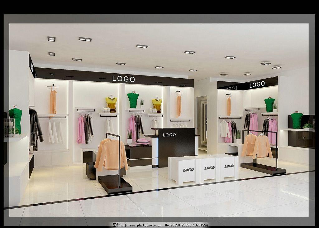 羊绒衫 商场女装专柜 服装专柜 服饰 休闲 品牌专卖 半开放 展示设计