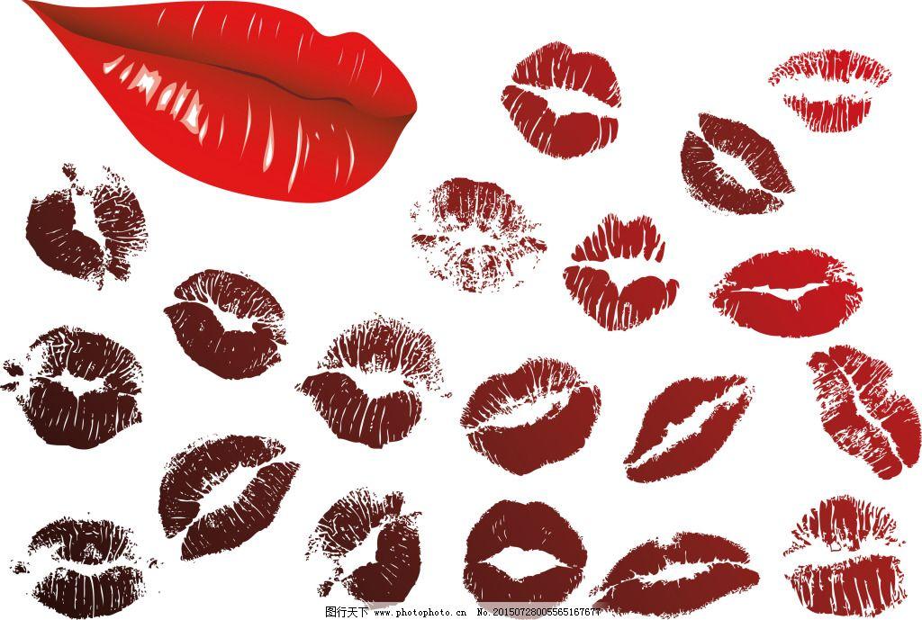 口红嘴唇嘴型