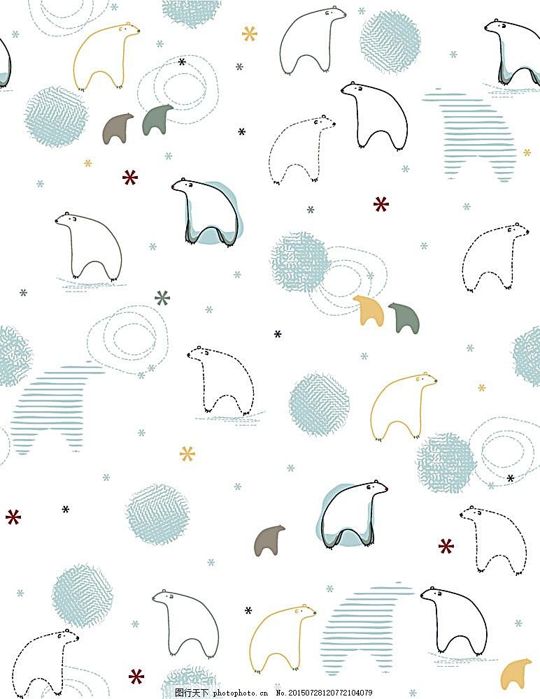 动物 时尚花纹 底纹背景 时尚潮流 背景图案 矢量花纹 底纹边框 花边