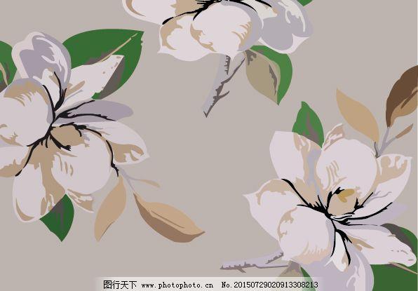 栀子花背景图片