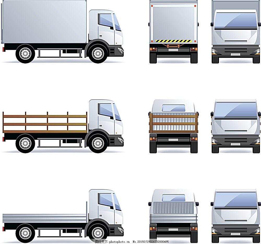 货车电路元件实物图
