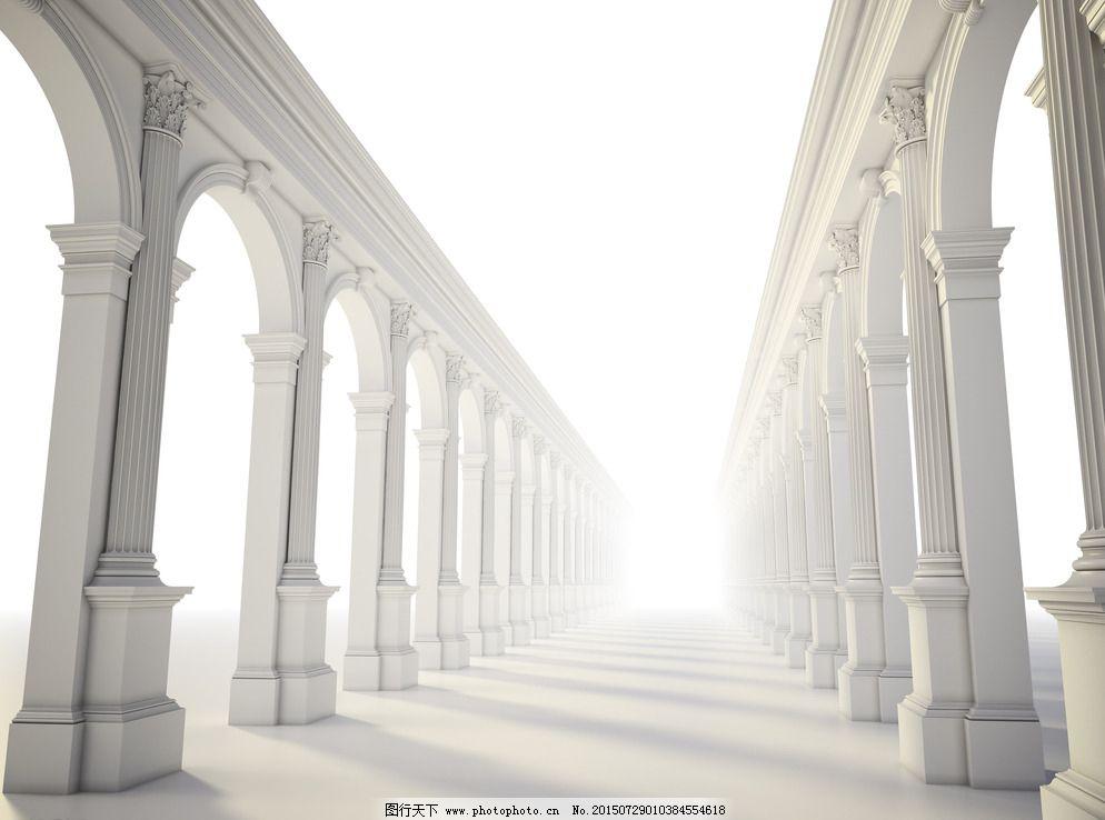 欧式建筑 婚礼场景图片图片