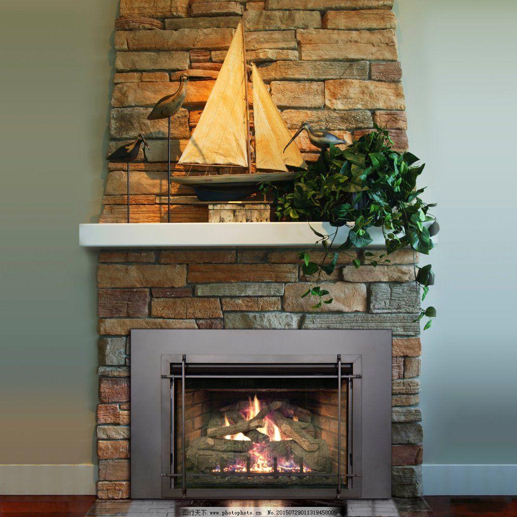 真火壁炉 真火壁炉免费下载 背景 高清图片 家居设计 欧式 室内设计