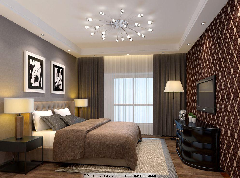 客房标准间装修效果图