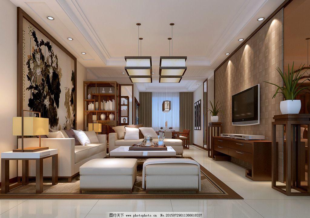 室内设计 室内效果图 室内设计 室内效果图 个性客厅设计 电视墙 吊顶图片