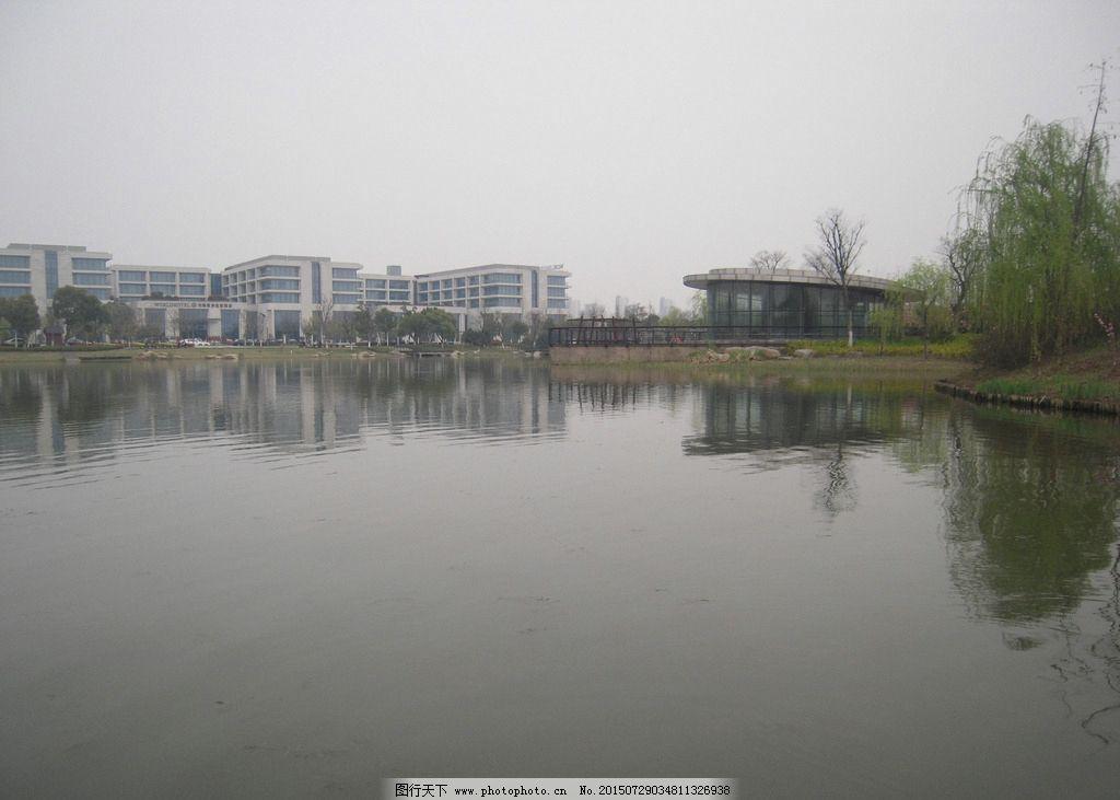 无锡风景 湿地公园 公园风景 尚贤河湿地 建筑风景 柳树 摄影 自然