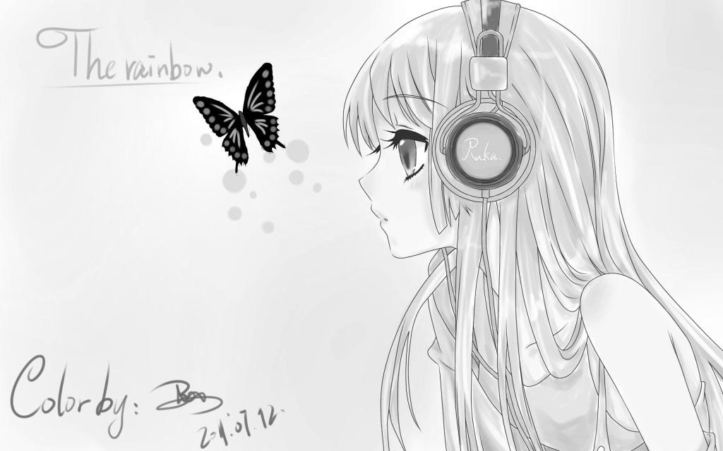 动漫 蝴蝶 少女 动漫 少女 蝴蝶 图片素材 卡通动漫可爱图片