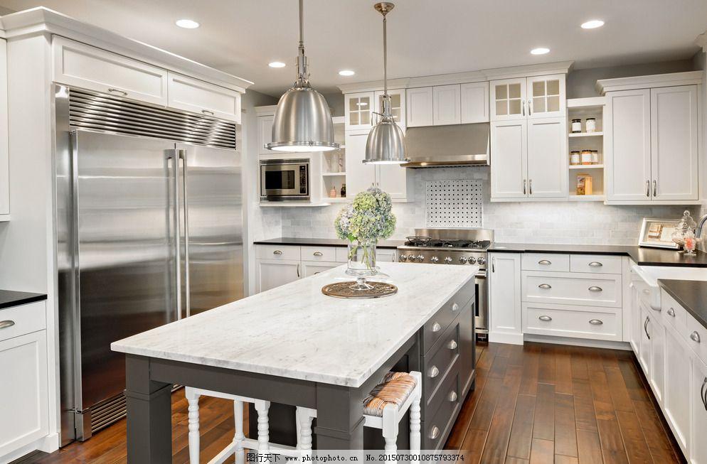 环境设计 家居设计 设计 室内摄影 现代厨房      厨具 冰箱 欧式厨房图片