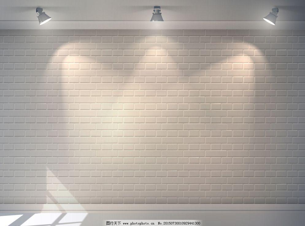 灯光背景墙图片