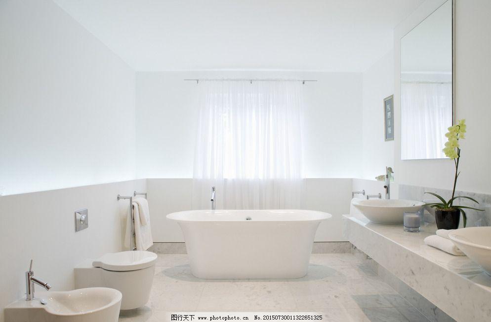 浴室室内设计手绘
