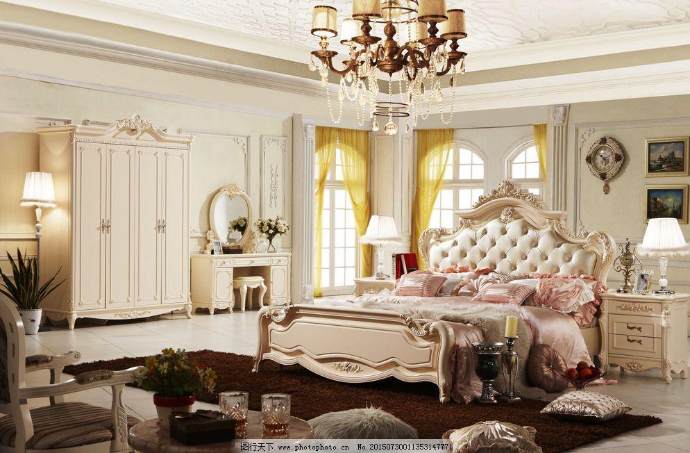 家具 家具图片免费下载 床 床头柜 柜子 欧式家具 室内设计 梳妆台