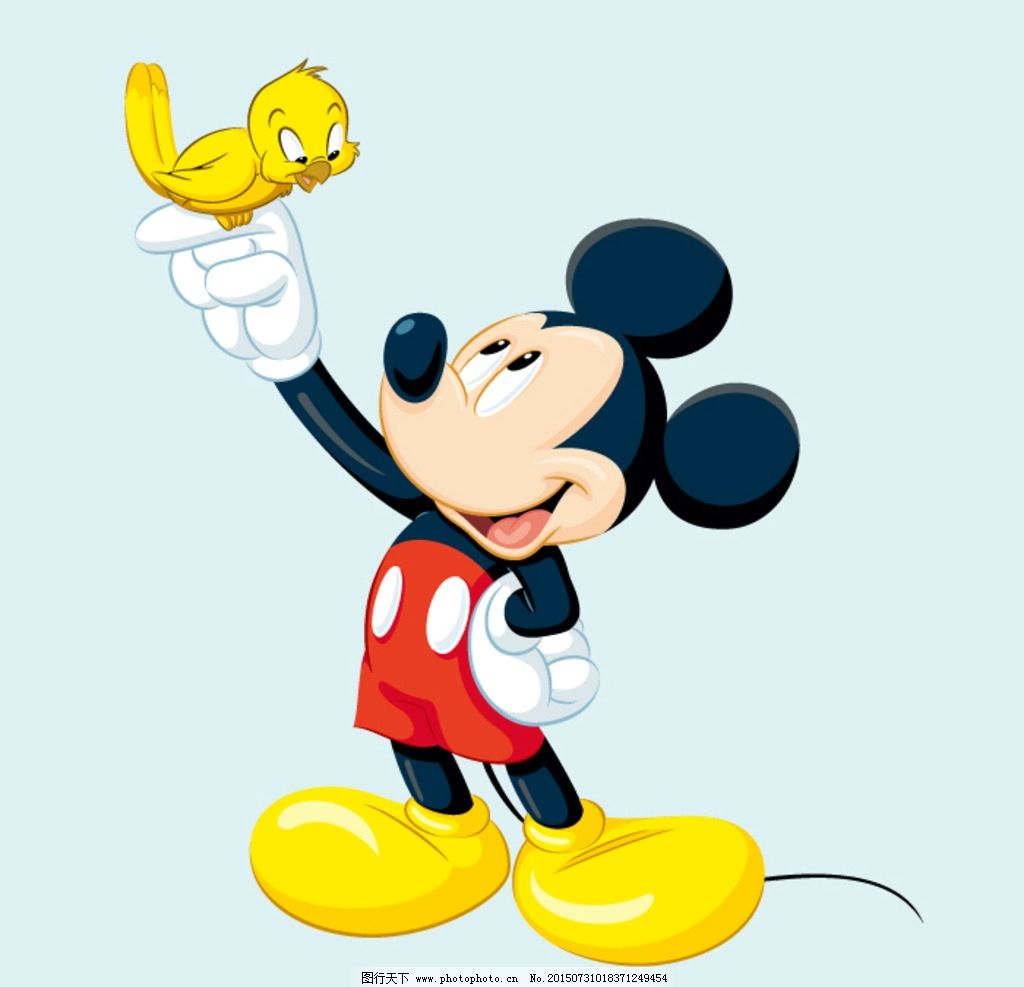 迪士尼 米奇 老鼠 卡通 动漫 动画  设计 动漫动画 动漫人物  ai