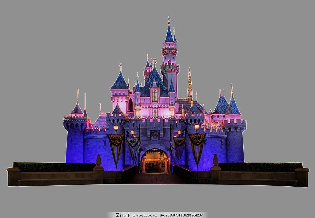 迪士尼城堡
