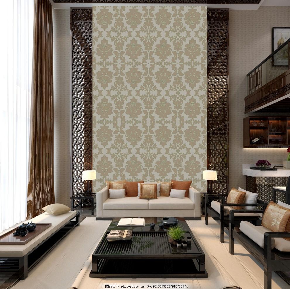 硅藻泥客厅 硅藻泥 环保墙面 欧式      沙发背景 设计 环境设计 室内