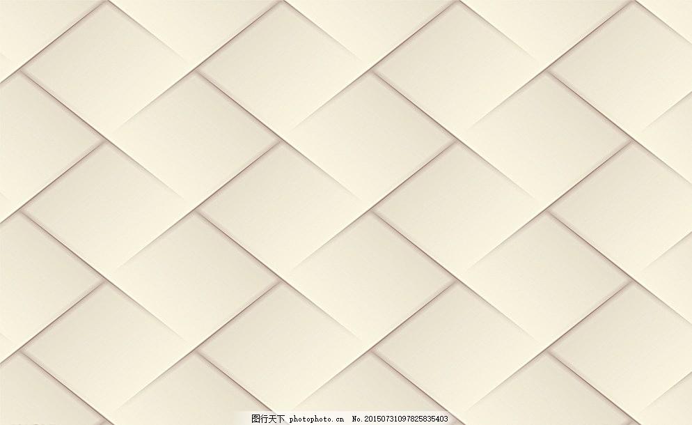3d菱形背景系列 3d 菱形 方块 背景 电视背景墙 背景墙效果图 装修