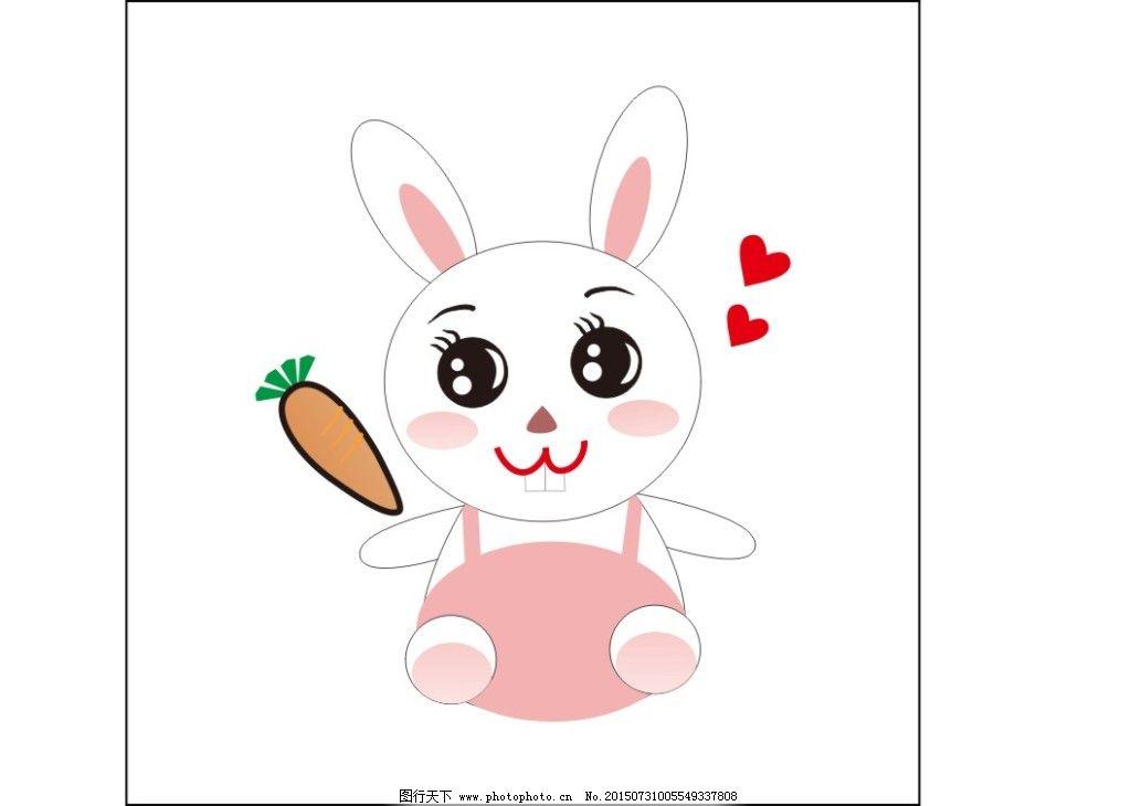小兔子卡通头像往右