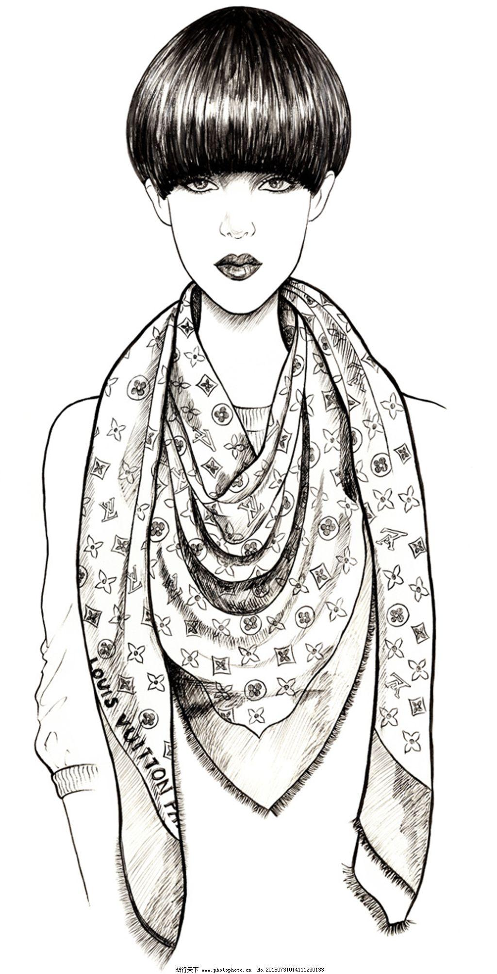 设计图库 服装设计 手绘服装设计    上传: 2015-7-31 大小: 4.