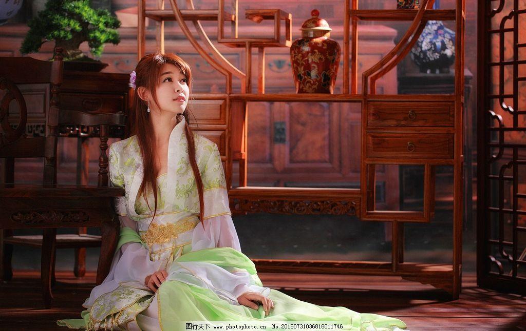 古装 美女 亚洲 长发