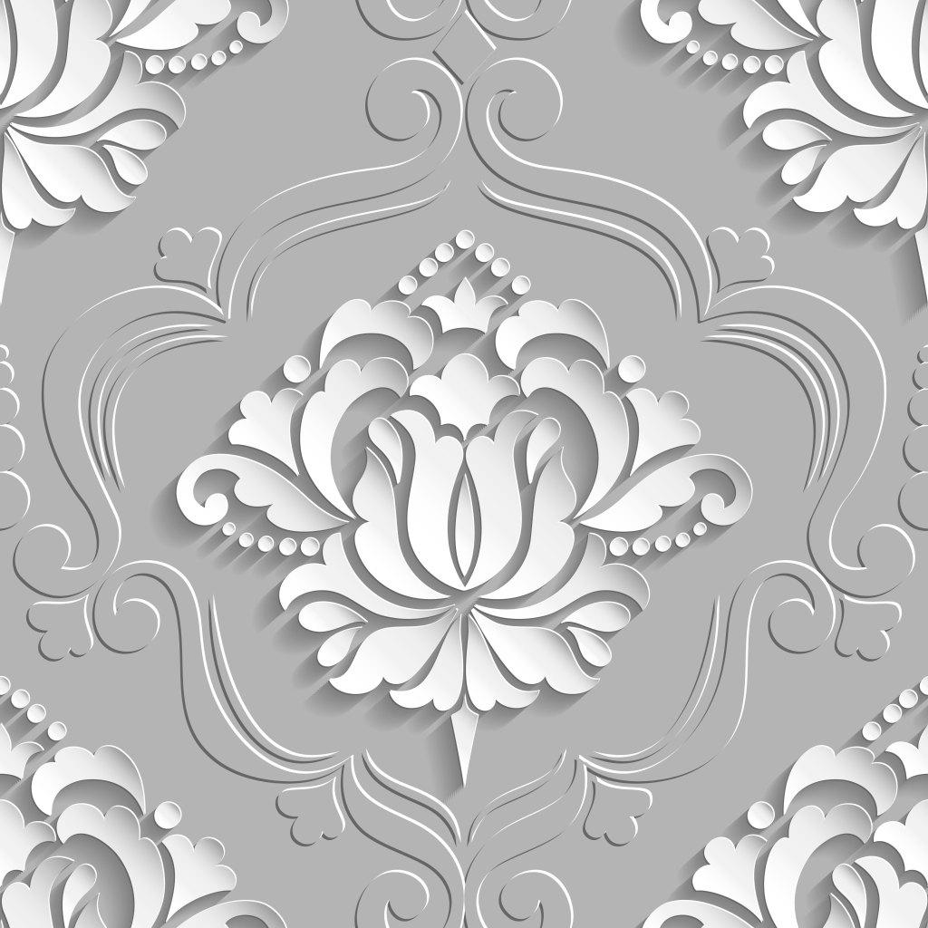 花纹雕刻 立体花纹 欧式花纹 大气花纹 白色花纹 剪纸花纹 创意花纹图片
