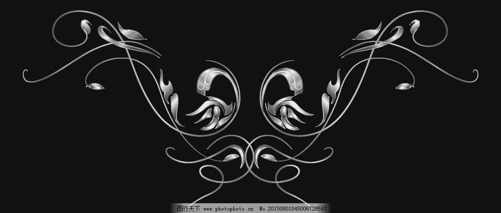 动画 通道 欧式 动态 黑白 花纹生长 多媒体 影视编辑 影视特效素材