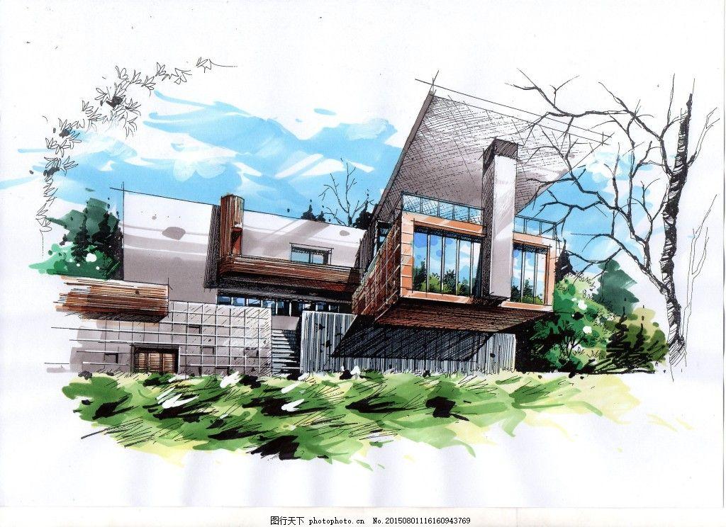 建筑设计 建筑考研 手绘设计 大禹手绘