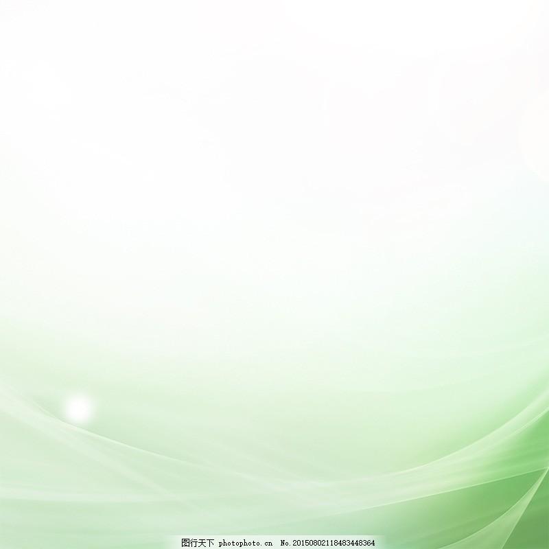 小清新背景 绿色背景 淡雅背景 白色