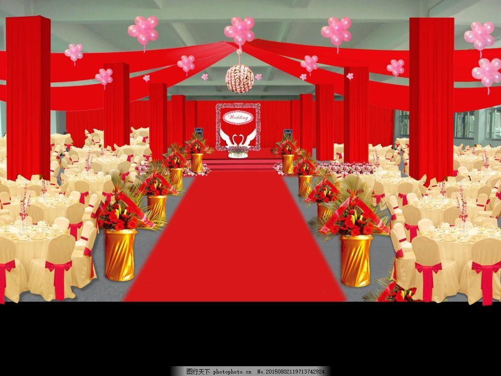 清新婚礼 淡雅婚礼 婚礼效果图 psd 婚礼迎宾区 红色婚礼 欧式婚礼