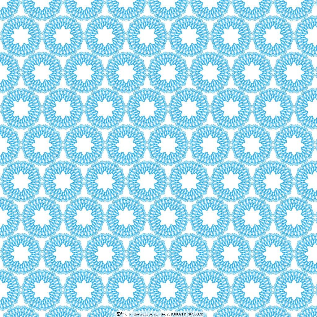 蓝色抽象图案 装饰 墙纸 印花 服装 卡通图案 eps 青色 天蓝色 eps