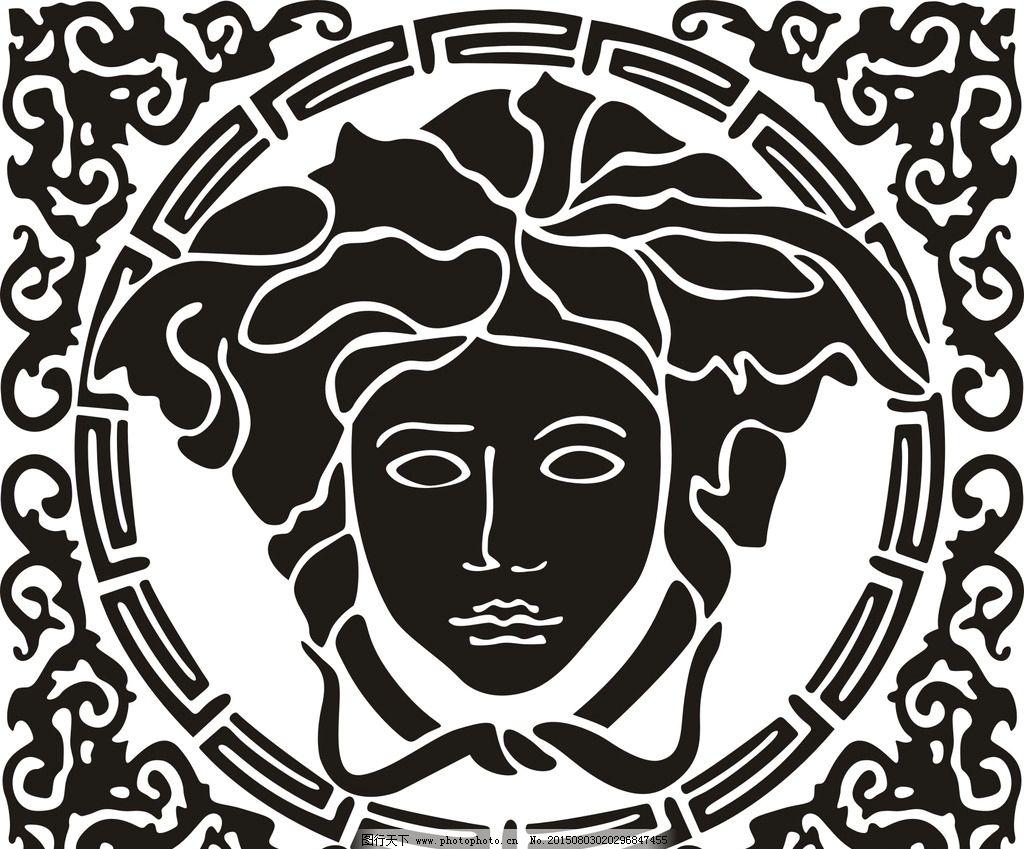 范思哲      欧式花边 欧式花纹 美杜莎  设计 底纹边框 背景底纹