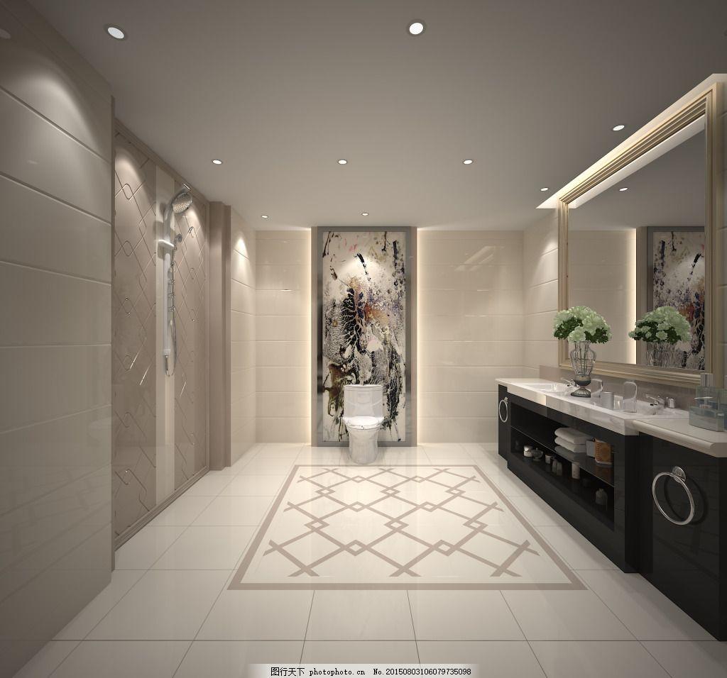 新中式卫生间 拼花 卫浴 通体微晶石     灰色 jpg图片