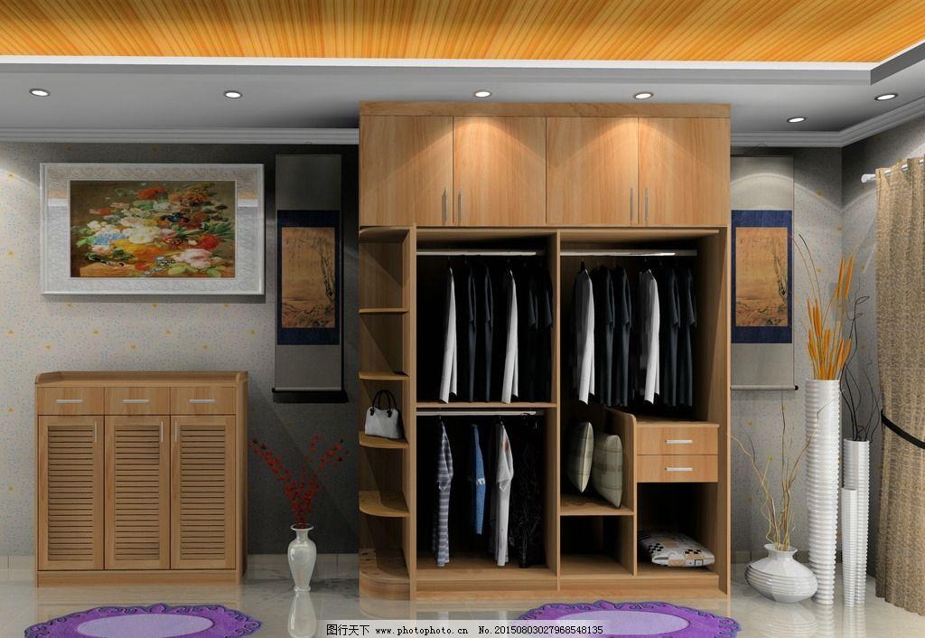 衣柜鞋柜效果图图片_室内设计_环境设计_图行天下图库