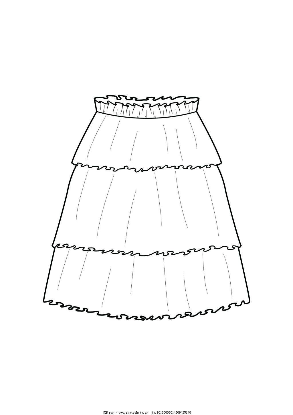 塔裙 塔裙免费下载 服装款式 服装设计 裙子设计 原创设计 其他原创