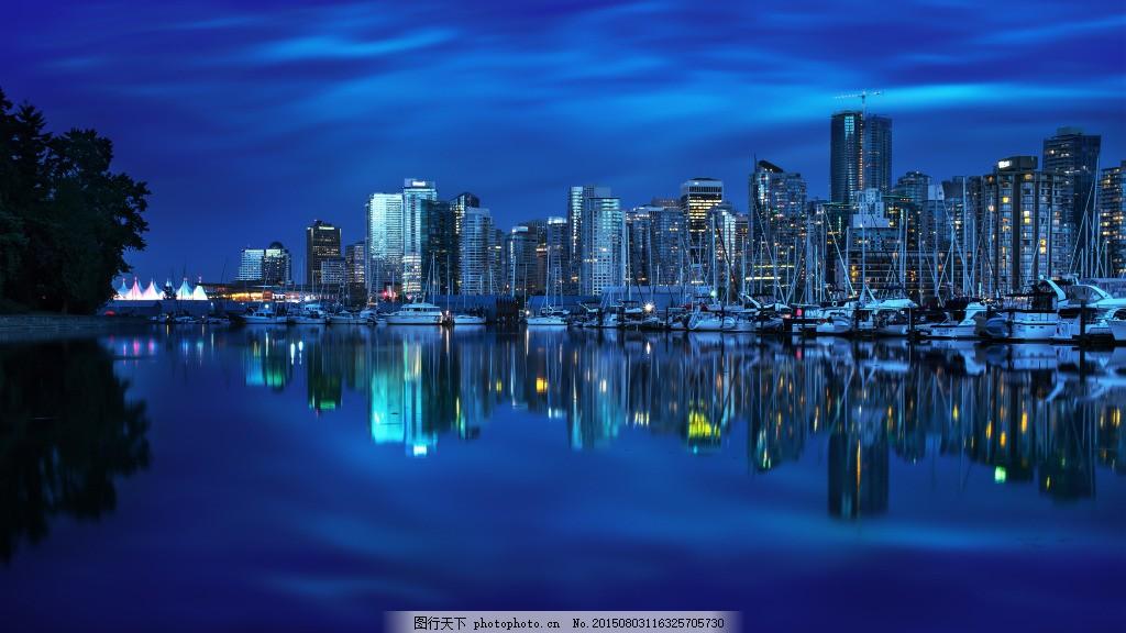 背景 桌面壁纸 电脑壁纸 大图素材 4k 风景 夜景 都市 旅游 jpg 蓝色