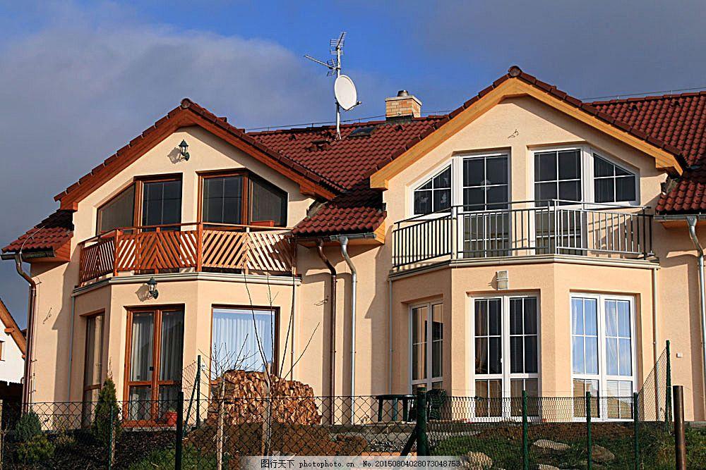 欧式别墅 别墅设计 豪华别墅 房子 房屋地产 建筑设计 环境家居 图片