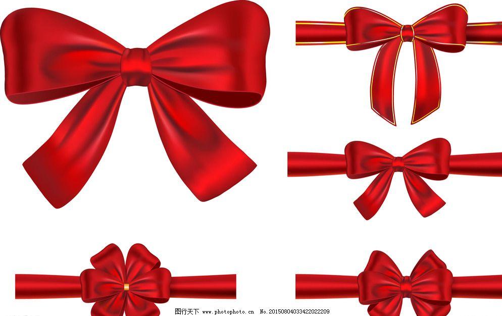 广告设计 贺卡 红丝带 蝴蝶结 卡片 礼品包装 设计 蝴蝶结 红丝带