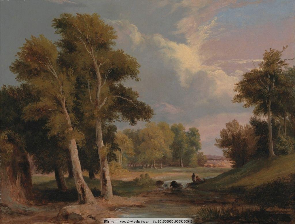 布面油画 油画风景