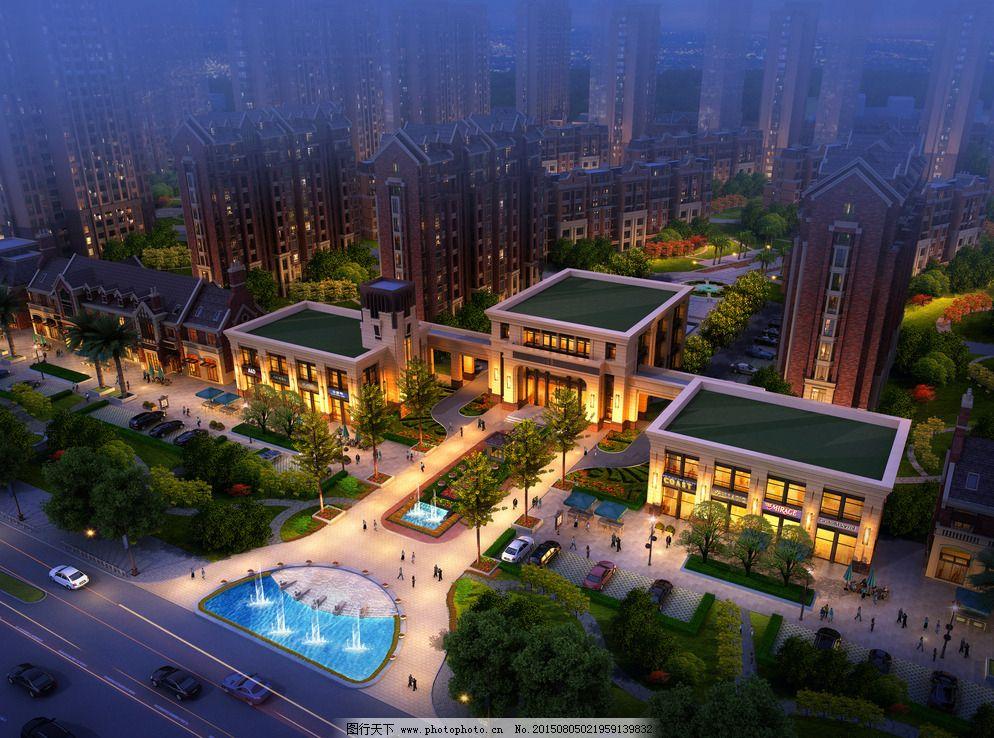 售楼部 售楼部图片免费下载 欧式建筑 室外模型 现代风格 效果图