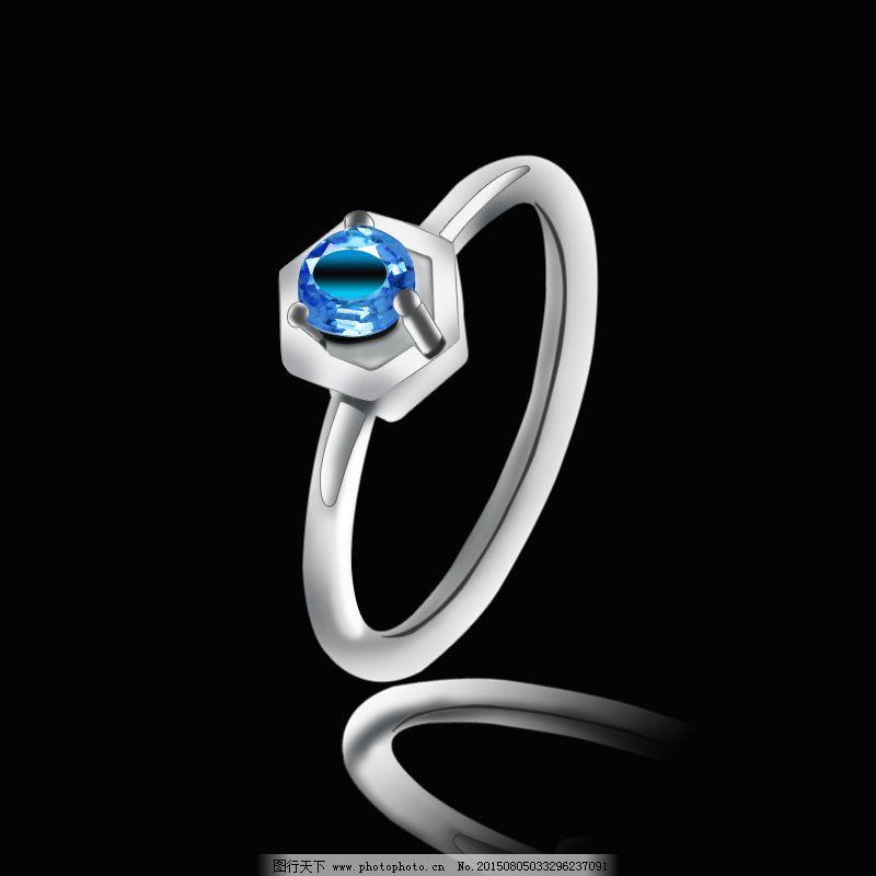 戒指手绘 戒指手绘免费下载 影音 立体戒指 广告设计