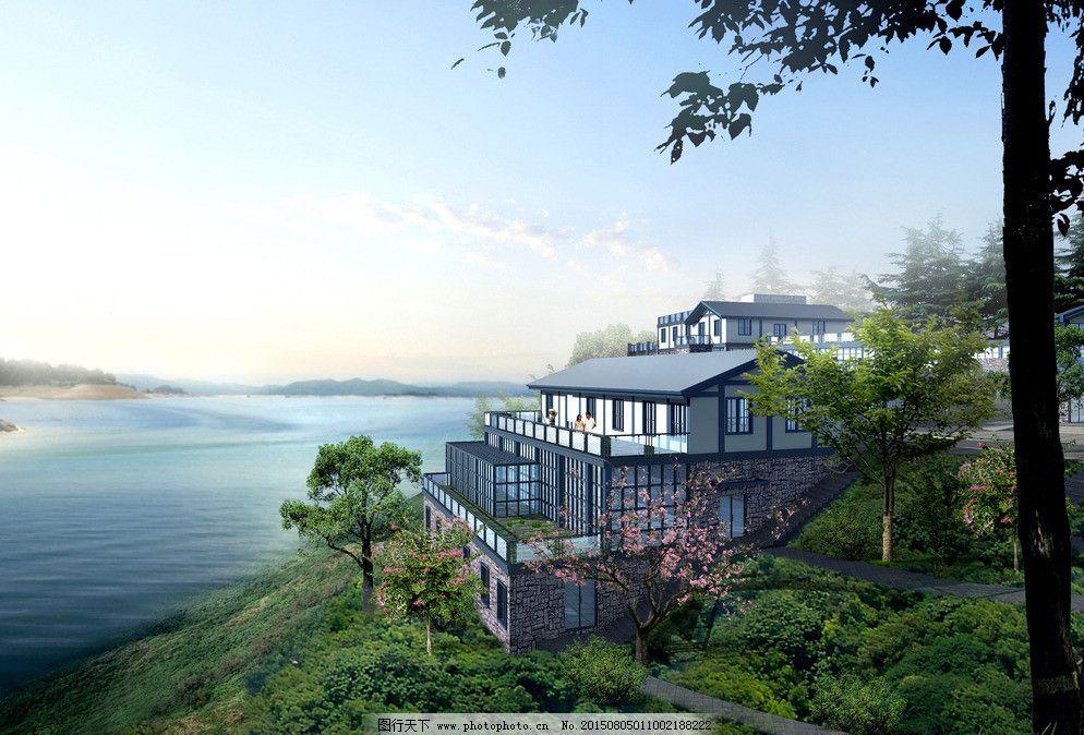 海边别墅图片