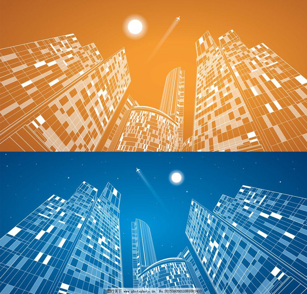 建筑设计 手绘建筑 都市 城市 国外建筑 楼房 速写 建筑写生 线描