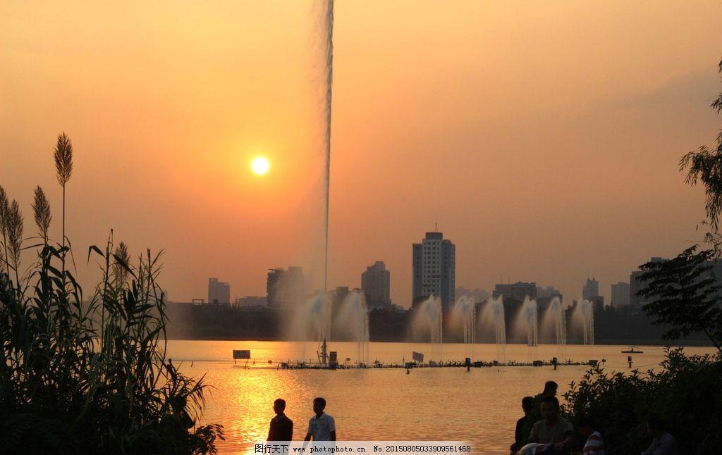 南京/南京黄昏景图片