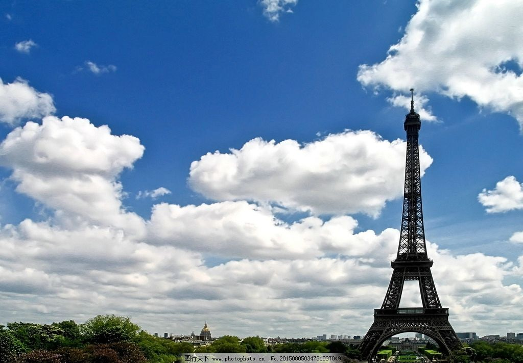 法国风光 法国旅游 巴黎铁塔 法国 埃菲尔铁塔 巴黎 建筑 古建筑 古老