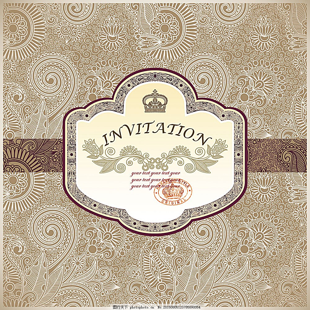 欧式底纹背景 复古花纹 古典花纹 卡片 贺卡 封面 怀旧背景 时尚花纹
