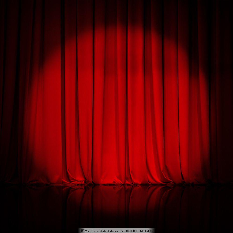 舞台幕布图片_灯饰素材_装饰素材_图行天下图