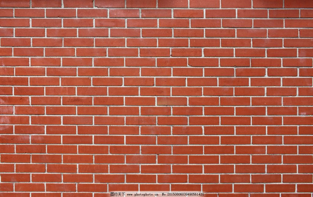 红色砖墙图片